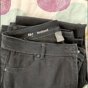 Avenue boot cut jeans